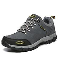 baratos Sapatos Masculinos-Homens Couro Sintético Outono Conforto Tênis Cinzento / Amarelo / Verde