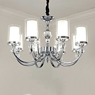 QINGMING® Tradicionalni / klasični Lusteri Uplight - Crystal, Mini Style, 110-120V / 220-240V 8 žarulje Bulb not included / 15-20㎡