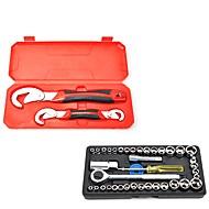 Mehrzweck universal schraubenschlüssel schnelle öffnung live mund rohrzange werkzeugsatz industriequalität 40 stücke hülsen-tool kit