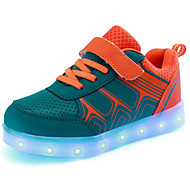 Недорогие -Мальчики обувь Полиуретан Осень Зима Удобная обувь Кеды Назначение Повседневные Оранжевый Синий Розовый
