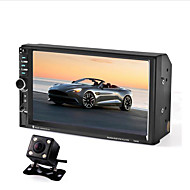 7 inch 1 DIN Built-in Bluetooth / Touch Screen for universal Support / CD / Mp3 / WMA / JPEG / Mp4