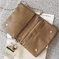 baratos Clutches & Bolsas de Noite-Mulheres Bolsas PU Bolsa de Mão Botões Rosa / Verde Tropa / Khaki