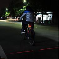 Sykkellykter Nødlys Baklys til sykkel Cree Sykling Bærbar Profesjonell Vanntett Enkel å bære Laser Vekselstrøm-Lader Lumens