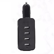 billiga Billaddare för mobilen-hzn401 laddning usb mobil laddare 4 usb bil laddare med fyra mobiltelefon laddare