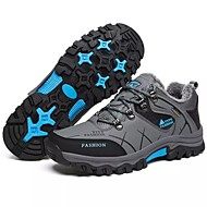 billige Skosalg-Herre-PU-Flat hæl-Komfort-Sneakers-Friluft-Brun / Grå / Kaki