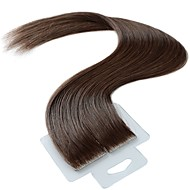Tape In Human Hair Extensions 20Pcs/Pack 2.5g/pc Ash Brown 20 inch