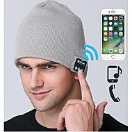 Ski Hat Wireless Bluetooth Beanie Men's Women's Hands Free Sound Control Headphones Speakers Thermal / Warm Windproof