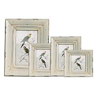ρετρό νοσταλγία χειροποίητο πλαίσιο παλιών ξύλινων πλαισίων απλών γκρι φωτογραφιών f86