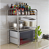 billiga Köksförvaring-Kök Organisation Plattskivor Rostfritt stål Lätt att använda 1st