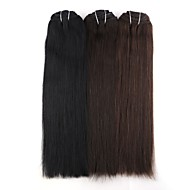 Neitsi 14'' 110g 7Pcs Clip in Remy Human Hair Extensions Straight Double Drawn Full Head 8A Grade Quality