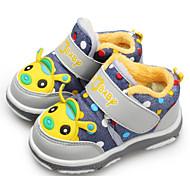 赤ちゃん 靴 キャンバス 春 秋 コンフォートシューズ 赤ちゃん用靴 スニーカー ウォーキング 面ファスナー のために カジュアル Brown ブルー ピンク