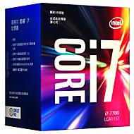 hesapli ilgisayar Bileşenleri-Intel CPU Bilgisayar İşlemcisi core i7 I7-7700 4 Çekirdek 8 LGA 1151