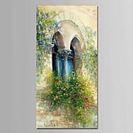 Pintados à mão Paisagem Vertical,Modern 1 Painel Tela Pintura a Óleo For Decoração para casa