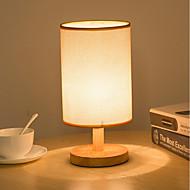 billige Skrivebordslamper-Enkel / Retro / vintage / Moderne / Nutidig Mini Stil / Øyebeskyttelse Skrivebordslampe Til Stof 220V Hvit / Grå og Hvit