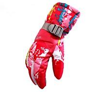 Luvas de Inverno Luvas de Esqui Mulheres Dedo Total Pele Manter Quente A Prova de Vento Permeável á Humidade Respirável Esqui Material à