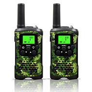 billige Walkie-talkies-armygreen og camo for barn walkie talkies 22 kanaler og (opp til 10km i åpne områder) armygreen og camo walkie talkie for barn (1 par) T48
