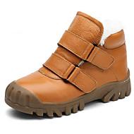 Poikien kengät Nahka Syksy Talvi Comfort Talvisaappaat Bootsit Käyttötarkoitus Kausaliteetti Musta Keltainen Sininen