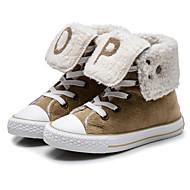 Недорогие -Мальчики обувь Ткань Осень Зима Удобная обувь Кеды Назначение Повседневные Темно-синий Винный Хаки