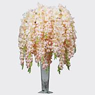 baratos -Poliéster Orquideas Flores artificiais