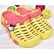 tanie Obuwie dziewczęce-Dla dziewczynek Buty EVA Wiosna Lato Comfort Sandały Na Casual Yellow Czerwony Różowy Light Blue