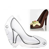 3D High Heel Shoe Mould Chocolate Candy Decorating Jelly Cake Mold Baby Handmade