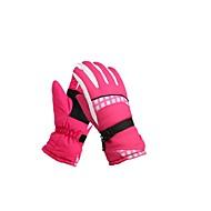 Luvas de Esqui Mulheres Dedo Total Manter Quente Cobertura Esqui Exercicio Exterior Inverno