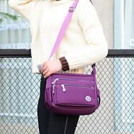Mulher Bolsas Fibra Sintética Bolsa Transversal para Festa/Eventos Casual Primavera Verão Preto Rosa Azul Profundo Violeta