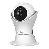cheap Indoor IP Network Cameras-VESKYS 2.0 MP Indoor with IR-cut 128(Built-in speaker Built-in Microphone Day Night Motion Detection Remote Access Plug and play IR-cut)