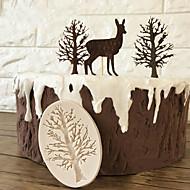 billige Bakeredskap-Bakeware verktøy Silikon 3D / GDS For kjøkkenutstyr Cake Moulds 1pc