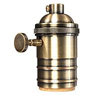 billige Lampesokler og kontakter-OYLYW 1pc E26 / E27 Bulb Accessory Lysstikkontakt Metallisk