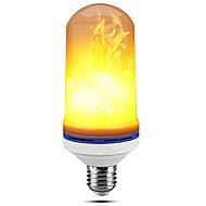 1pc e27 5w led lámpa lámpák 99led villogó emuláció tűz lámpák dekoratív lámpa ac85-265v