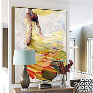 cheap Framed Arts-Abstract Oil Painting Wall Art,Alloy Material With Frame For Home Decoration Frame Art Bedroom Dining Room