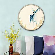 cheap Framed Arts-Animals Floral/Botanical Illustration Wall Art,PVC Material With Frame For Home Decoration Frame Art Living Room Bedroom Kitchen Dining