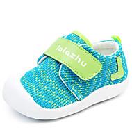 赤ちゃん 靴 繊維 冬 秋 コンフォートシューズ 赤ちゃん用靴 フラット のために カジュアル オレンジ レッド グリーン