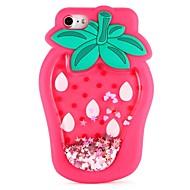 billiga Mobil cases & Skärmskydd-fodral Till Apple iPhone X / iPhone 8 / iPhone 8 Plus GDS (Gör det själv) Skal Mat / 3D-seriefigur / Frukt Mjukt Silikon för iPhone X / iPhone 8 Plus / iPhone 8