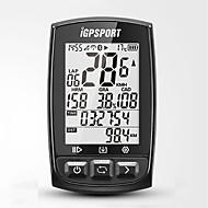 IGS50 Bisiklet Bilgisayarı Su Geçirmez Bluetooth Kablosuz ANT + GPS Konumlandırma, Anti-kayıp Sıcaklık Sensörü GPS Bisiklete biniciliği /
