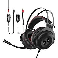 AJAZZ THE ONE Traka za kosu Žičano Slušalice Planarna magnetska Metal Igranje Slušalica S kontrolom glasnoće / S mikrofonom / Stereo
