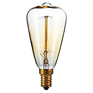 billiga Belysning-1st 40 W E14 ST48 2300 k Glödande Vintage Edison glödlampa 220-240 V
