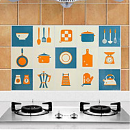 cheap Kitchen Cleaning Supplies-High Quality Kitchen Oil-Proof Sticker,Aluminum 45*75