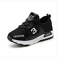 cheap Boys' Shoes-Boys' Shoes Breathable Mesh TPU Spring Summer Light Soles First Walkers Comfort Sneakers Animal Print Lace-up for Casual Outdoor Black