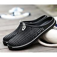 お買い得  メンズサンダル-メンズ 靴 EVA 春 夏 コンフォートシューズ サンダル のために カジュアル ホワイト ブラック レッド ネービーブルー