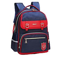 billige Skoletasker-Tasker Oxfordtøj Skoletaske Lynlås for Afslappet Blå / Rosa / Marineblå