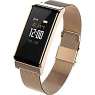 Bracelet à puce B15 pour Android 4.4 / iOS Mesure de la pression sanguine / Bluetooth / Etanche / Capteur tactile / Contrôle de l'APP Traqueur de pouls / Podomètre / Rappel d'Appel / Moniteur