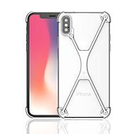 billiga Mobil cases & Skärmskydd-fodral Till Apple iPhone X / iPhone 8 Stötsäker Stötsäkert fodral Rustning Hårt Metall för iPhone X / iPhone 8 Plus / iPhone 8