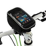 hesapli Bisiklet Gidon Çantaları-ROSWHEEL Cep Telefonu Çanta / Bisiklet Gidon Çantaları 5 inç Dokunmatik Ekran Bisiklet için Samsung Galaxy S6 / iPhone 5C / iPhone 4/4S / iPhone 8/7/6S/6 / iPhone 8 Plus / 7 Plus / 6S Plus / 6 Plus