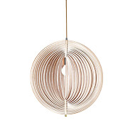 cheap Pendant Lights-Pendant Light ,  Modern / Vintage / Country Wood Feature for Designers Wood/BambooDining Room  / Study (Diameter 50cm)
