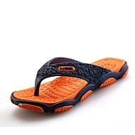 halpa -Miehet kengät Kumi Kevät Kesä Valopohjat Tossut & varvastossut varten Kausaliteetti Oranssi Harmaa Punainen Vihreä