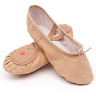 billige Ballettsko-Dame Ballett Lerret Flate Trening Flat hæl Naken / Kan spesialtilpasses