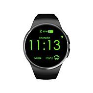billige Smartklokker-Smartklokke iOS / Android Kalorier brent / Pedometere / Touchscreen Pedometer / Søvnmonitor / Finn min enhet / Vekkerklokke / 64MB