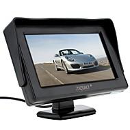 billiga Parkeringskamera för bil-ziqiao 4,3 tums bil bakre bildskärm med bakåtvänd backupkamera av hög kvalitet